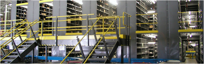 Borroughs Box-Edge Plus used for High Density Warehouse Storage