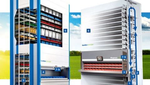 Our Vertical Storage Solutions Provide Automation, Expand Inventory,  Maximize Valuable Floor Space And Increase Efficie Ncy